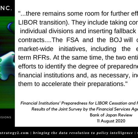 LIBOR -- The BOJ Speaks