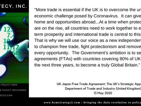 QOTD- #Trade + #Brexit + Japan = Global Rebalancing