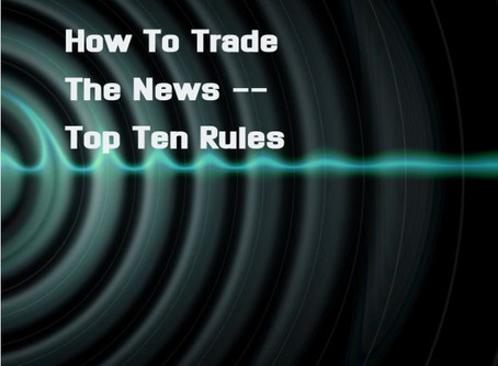 How To Trade The News -- Ebook published