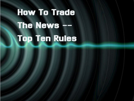 How To Trade The News 101