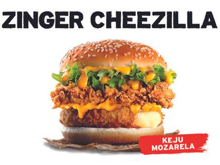 KFC ZINGER CHEEZILLA KEMBALI!