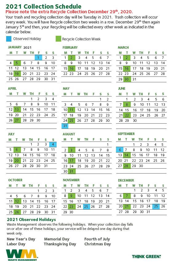 2021 Garbage Calendar.JPG