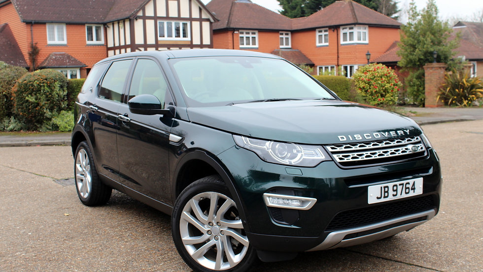 Land Rover Discovery Sport 2.0TD4 (180ps) 4X4 HSE Luxury Station Wagon 5d
