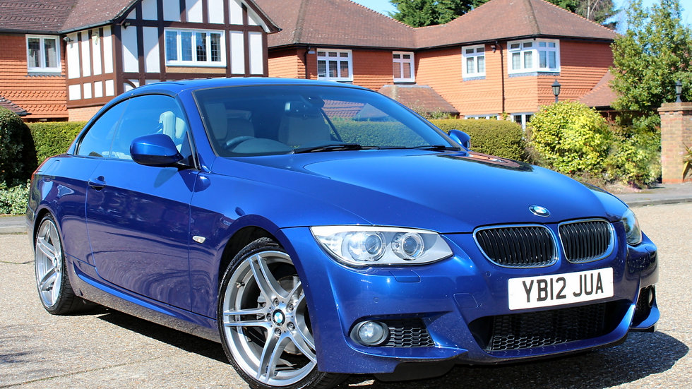 BMW 320d M Sport Convertible Automatic