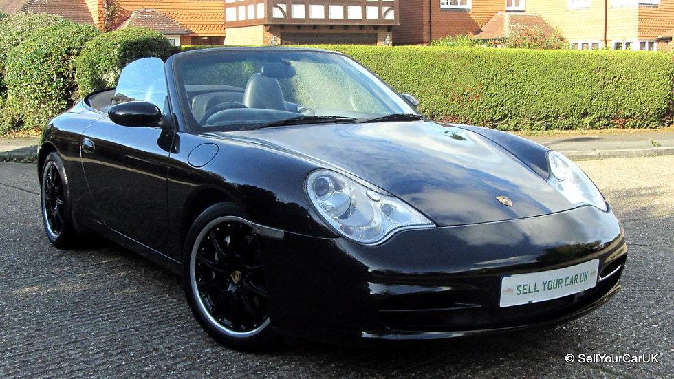 Porsche 996 3.6 Carrera 4 Cabrio Automatic