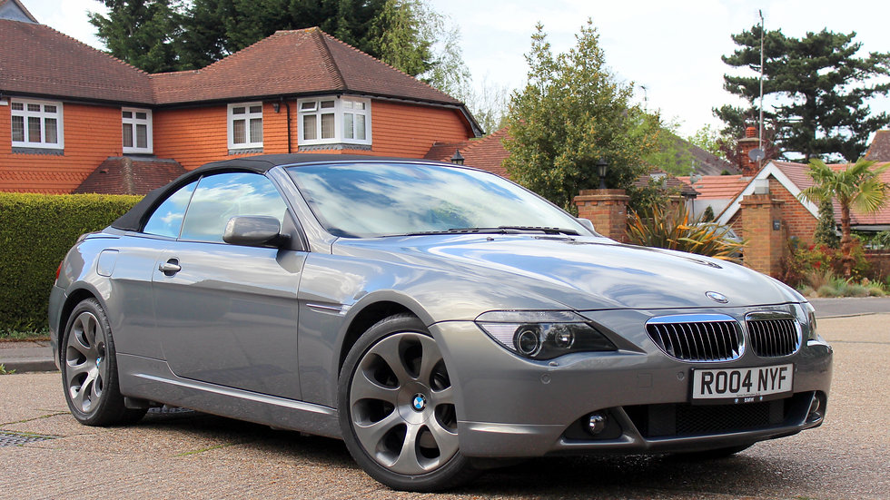BMW 6 Series 645Ci 4.4 V8 Automatic Cabriolet
