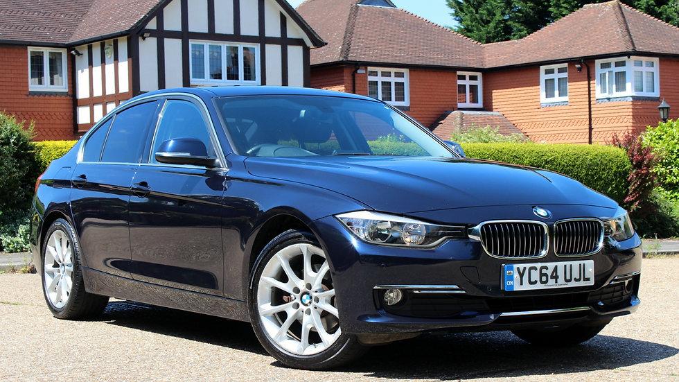 BMW 320d 2.0 Luxury (184bhp) s/s 4d Automatic