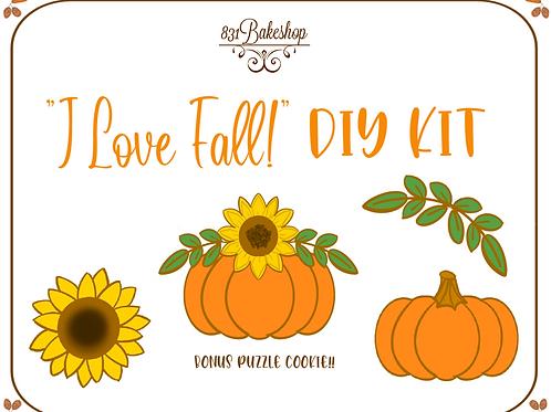 """""""I Love Fall!"""" DIY Kit"""