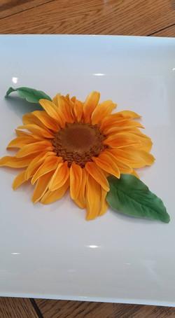Sunflower Cake Topper