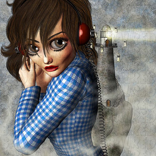 Fan Art - Stevie Wayne - Adrienne Barbeau