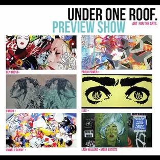 Under One Roof - Art for the Arts