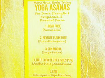 National Yoga Month: Manipura Asanas, Mudra, and Mantra