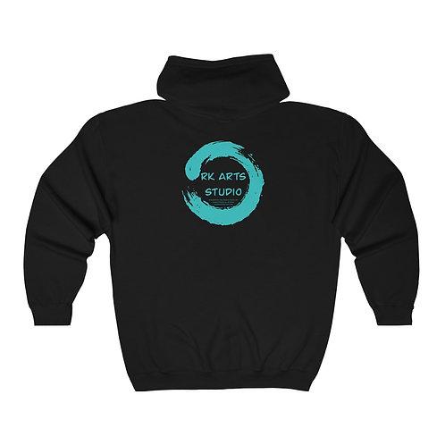 RKAS Logo Unisex Heavy Blend™ Full Zip Hooded Sweatshirt