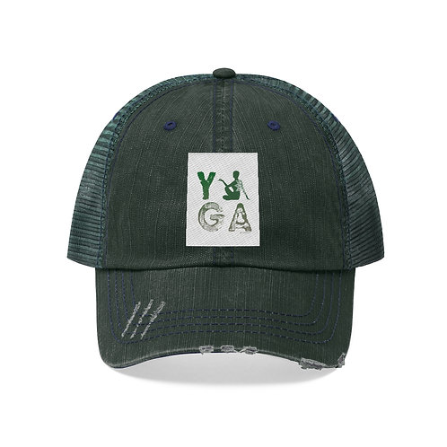 RKAS YOGA Green Unisex Trucker Hat