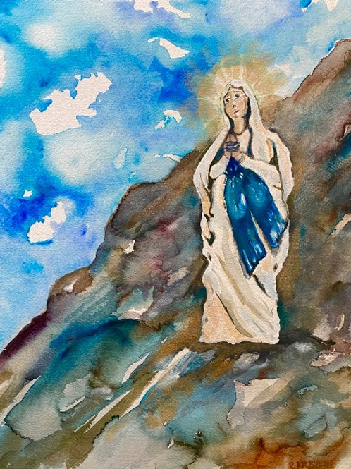 MARY ON THE MOUNTAIN