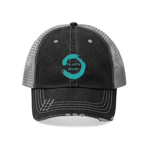 RKAS TEAL LOGO Unisex Trucker Hat