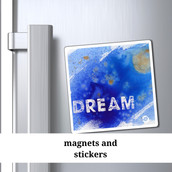 Rkas magnets and stickers