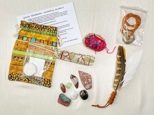 05A BEGINNER'S SHAMAN KIT WITH JOURNEY STONES