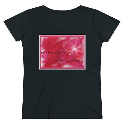 RKAS Walking Miracle-Organic Women's Lover T-shirt