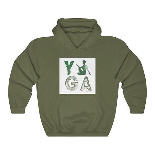 RKAS YOGA Green Unisex Heavy Blend™ Hooded Sweatshirt