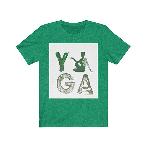 RKAS YOGA Green Unisex Jersey Short Sleeve Tee