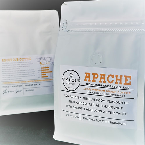 Apache, Six Four Coffee House-Blend