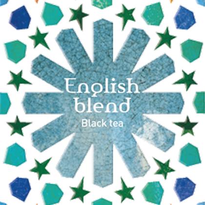 Tea Quiero, English Blend , Natural and Fair-trade Premium Tea ( 25bag