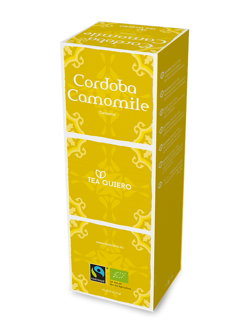 Tea Quiero, Cordoba Camomile, Organic, Fair-trade, Premium Tea ( 12bags