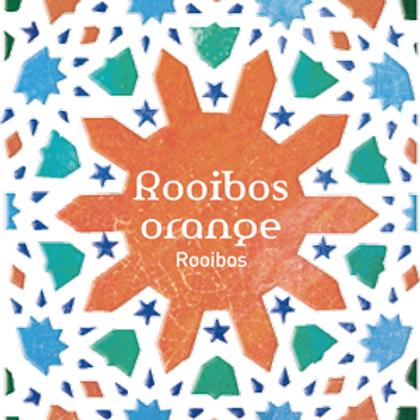 Tea Quiero, Rooibos Orange , Natural and Fair-trade Premium Tea ( 25bags/Box