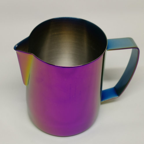 Latte Art Anodised Milk Pitcher, 300ml (12oz), sharp spout