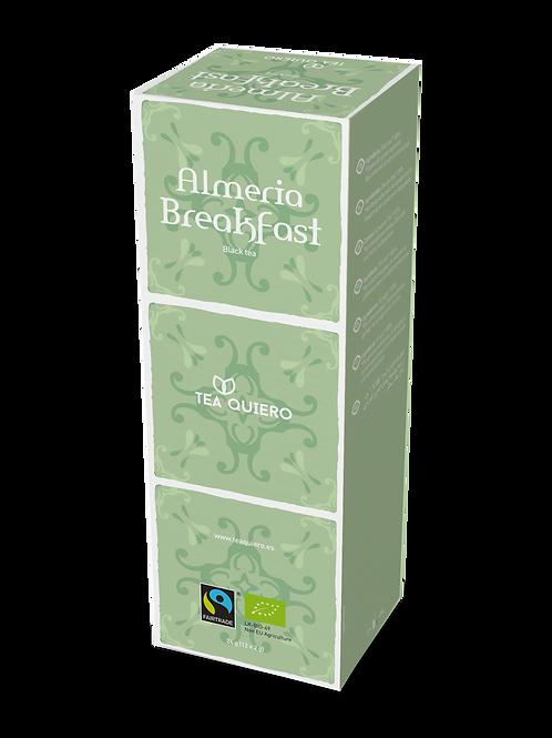Tea Quiero, English Breakfast, Organic, Fair-trade, Premium Tea ( 12bags/box