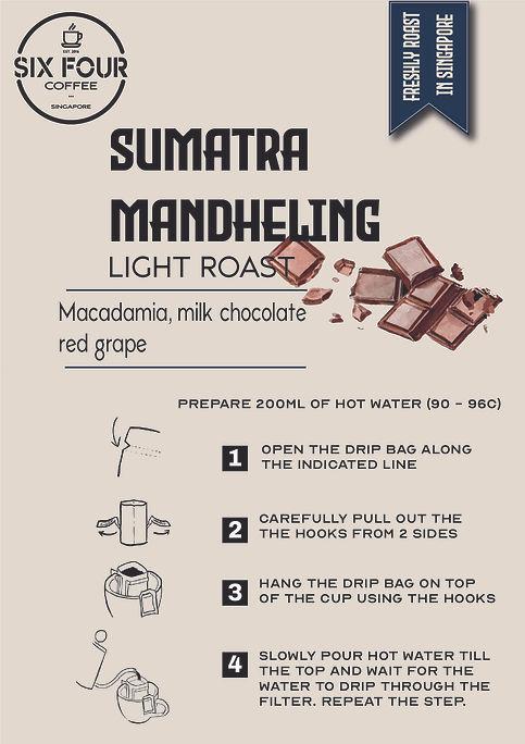 Sumatra Mand Drip Bag