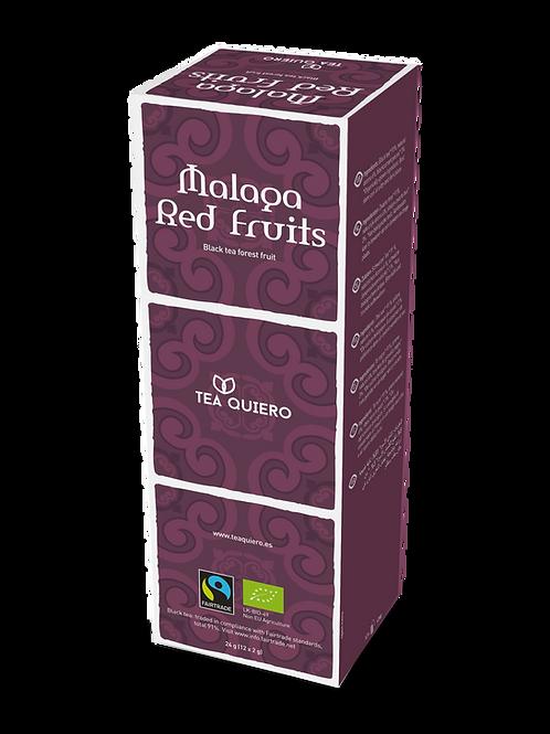 Tea Quiero, Red Fruits, Organic, Fair-trade, Premium Tea ( 12bags/box
