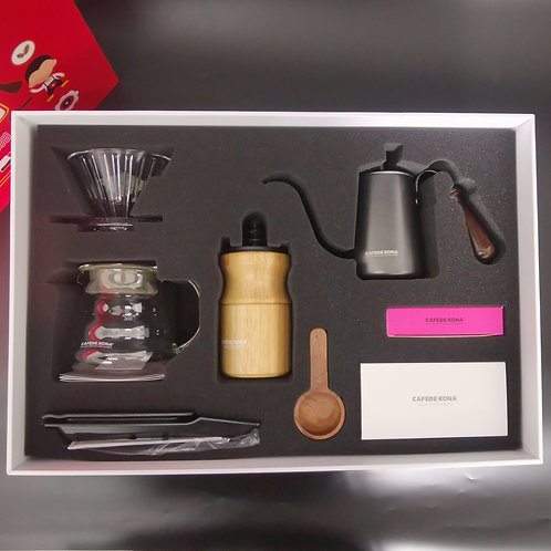Professional Barista Coffee Brewing Kit, 8 items,  by Cafede Kona
