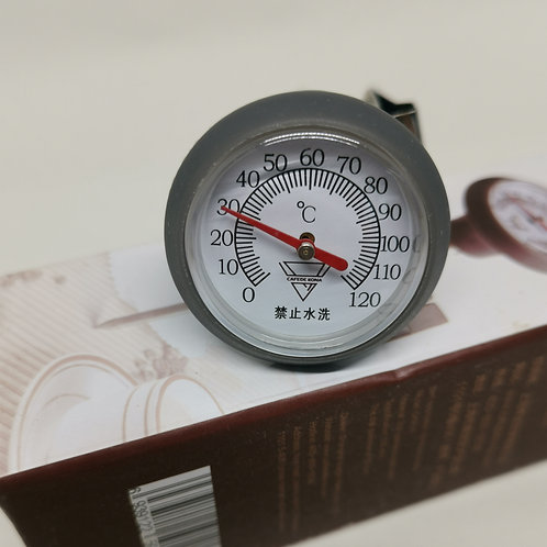 Analog Thermometer with clip (Suitable for Milk frothing and Brewing)
