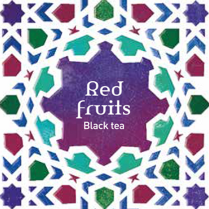 Tea Quiero, Red Fruits , Natural and Fair-trade Premium Tea ( 25bags/Box)
