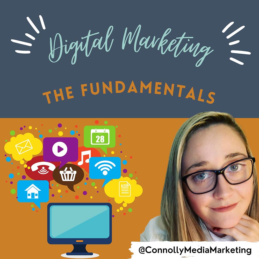Digital Marketing, The Fundamentals Podcast Connolly Media Marketing