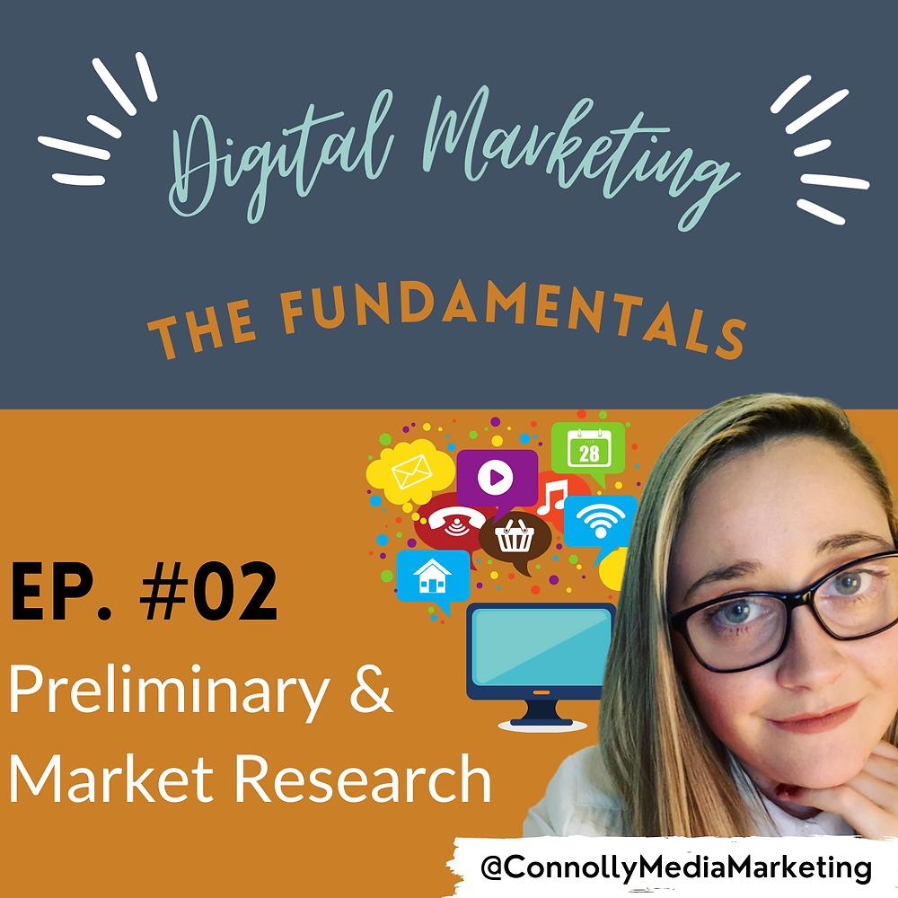 Digital Marketing, The Fundamentals, Marketing Research, CMM Podcast