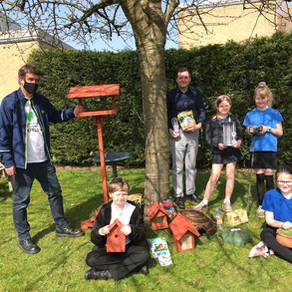 Otley school children get the wildlife bug