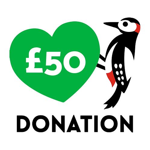 £50 Donation