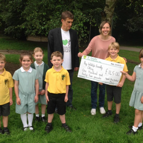 Otley youngsters protect wildlife