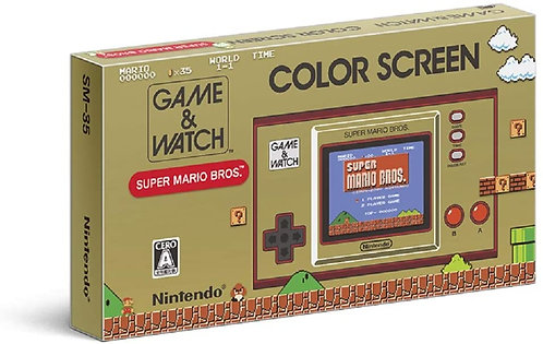 intendo GAME & WATCH Super Mario Brothers (Game Console) Japan version