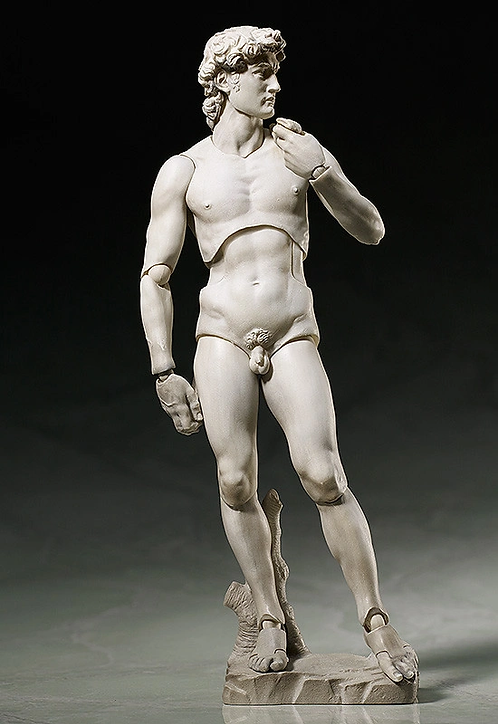 figma Davide di Michelangelo Japan version