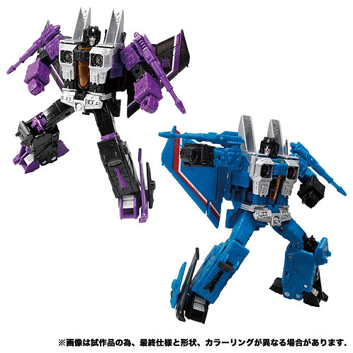 Takara Tomy Transformers Earthrise ER EX-16 Skywarp & Thundercrack Japan version