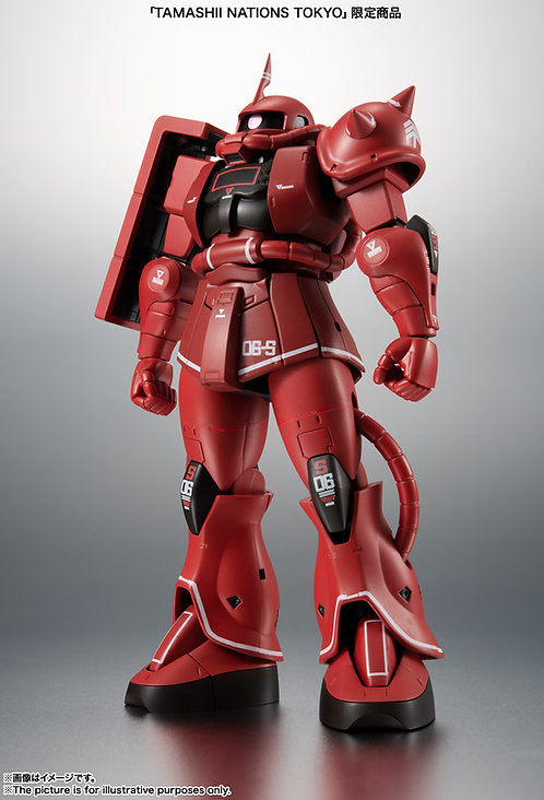 THE ROBOT SPIRITS〈SIDE MS〉MS-06S Char's Zaku ver. A.N.I.M.E. -Real marking-