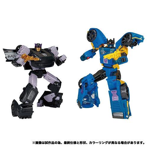 Takara Tomy Transformer Earthrise ER EX-25 Dominus Criminal Past Japan version
