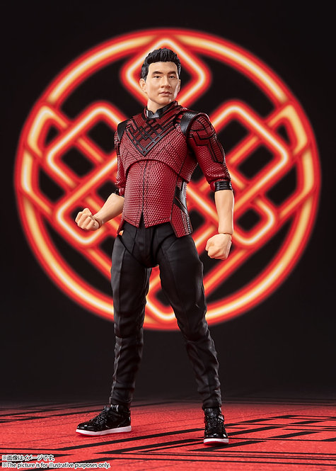 Bandai S.H.Figuarts Shang-Chi and the Legend of the Ten Rings Japan version