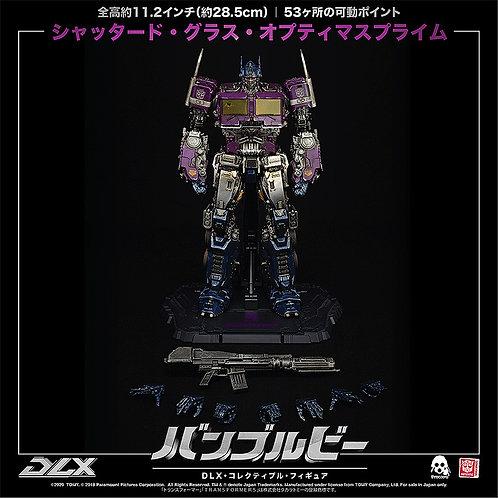 threezero DLX Shattered Glass Optimus Prime Japan version