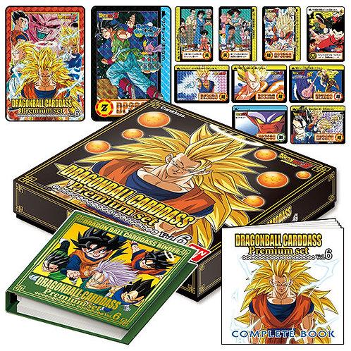Dragon Ball Carddass Premium set Vol.6 Japan version