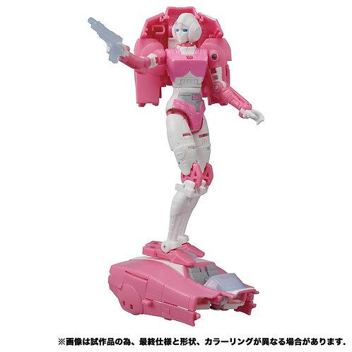 Takara Tomy Transformers Earthrise ER-09 Arcee Japan version